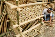 anyaman bambu | antara foto