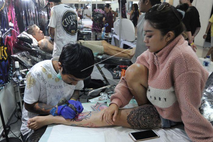 Bali Tattoo Expo Antara Foto
