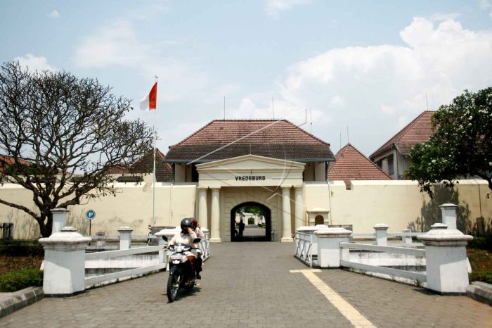 ジョクジャカルタ特別州のVREDEBURG (フレデブルク) 砦博物館