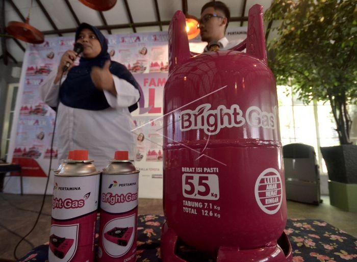 Bright Gas 5 5 Kilogram Di Makassar Antara Foto