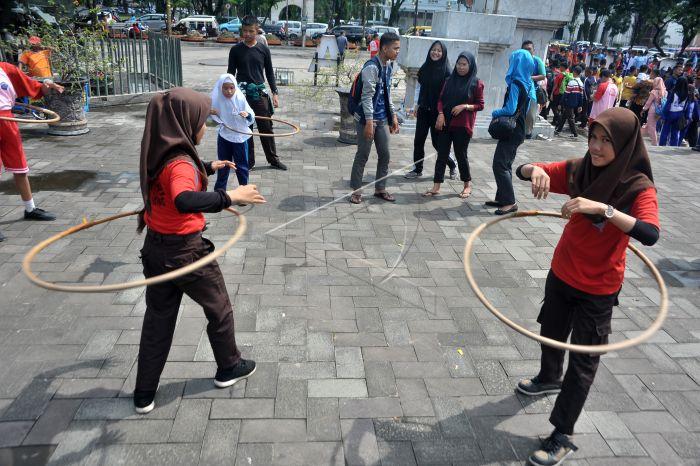 Festival Permainan Anak Tradisional Antara Foto