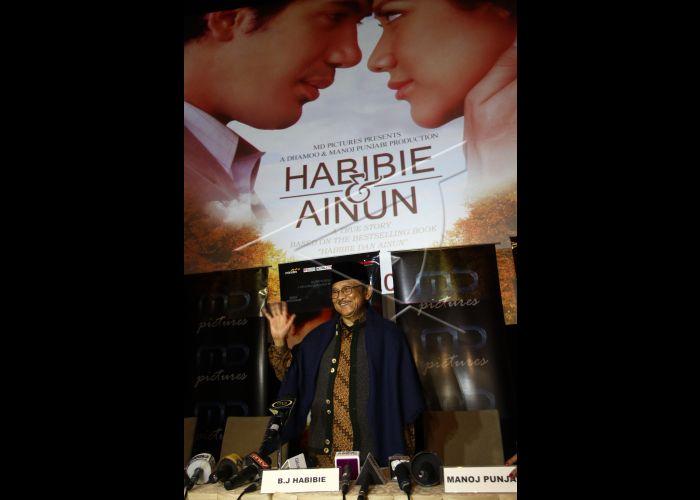 Film Habibie Dan Ainun   ANTARA Foto