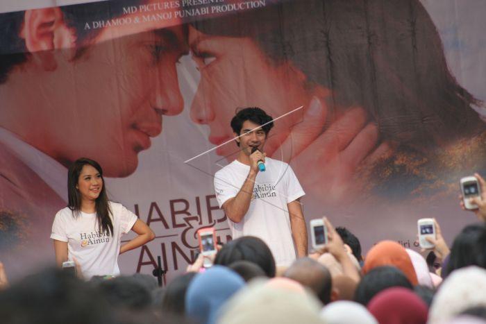 Film Habibie Dan Ainun.   ANTARA Foto
