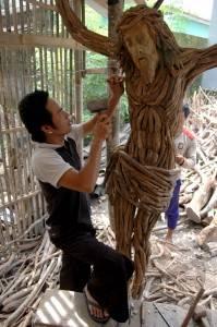 patung religi