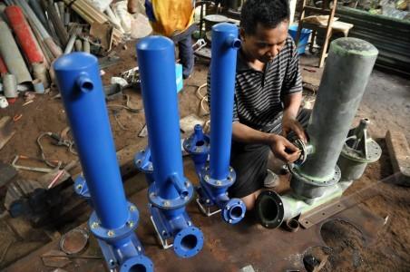 perajin pompa hidram