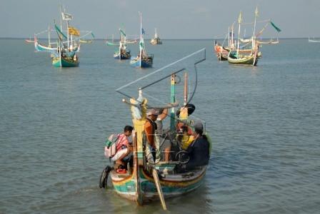 mudik dengan perahu