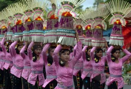 parade budaya nusantara.
