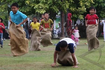 Balap Karung Sukses Indonesia