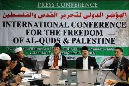 konferensi palestina