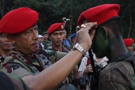 pendidikan kursus komando-92 kopassus di tutup