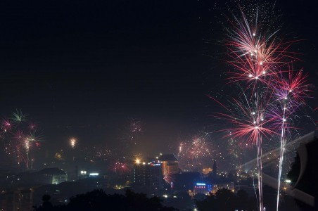 malam tahun baru ambon