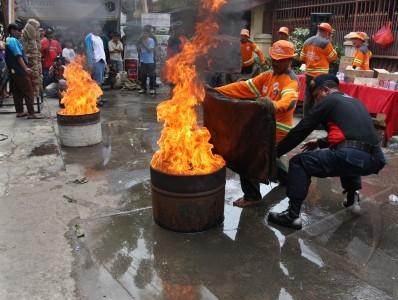 sosialisasi pencegahan kebakaran