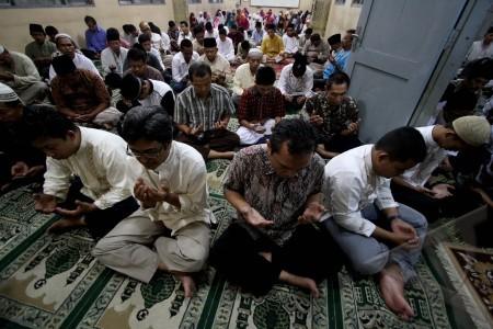 doa bersama jelang un
