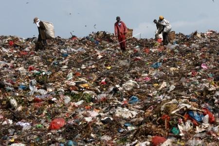 produksi sampah lebaran