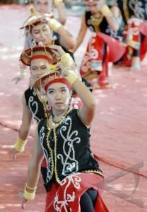 30 6 tarian dayak pedalaman beberapa seniman dari suku dayak pedalaman ...