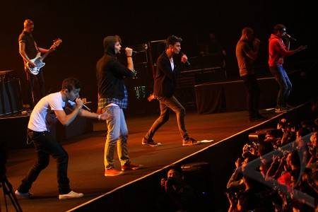 konser the wanted