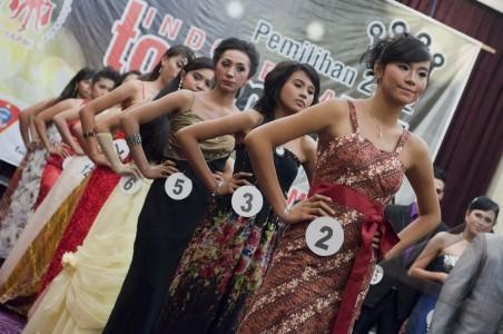 Model Catwalk Indonesia Pemilihan Indonesia Top Model