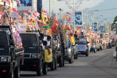 parade tradisi walima