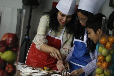 medan 21 4 lomba masak beberapa ibu bersama anaknya mengikuti lomba