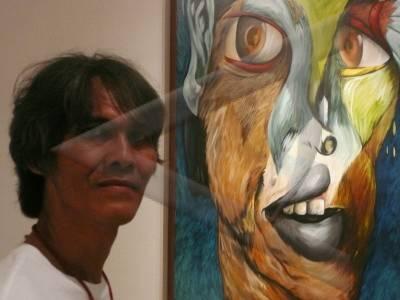 Lukisan+potret+diri