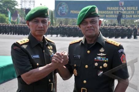 Mayjen TNI Murdjito Jabad Pangdam V/Brawijaya Yang Baru