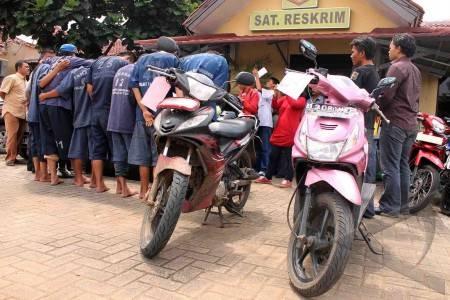 sindikat-curanmor-01 HUKUM & KRIMINAL  Kawanan Spesialis Pencuri Ranmor Dibekuk Polisi