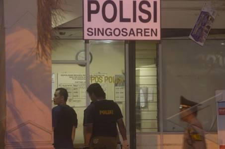 penembakan pos polisi