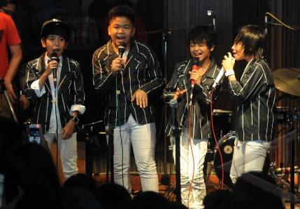 Coboy Junior - ANTARA Foto: Hiburan Dan Seni-Budaya - 30/4/2012 11:55