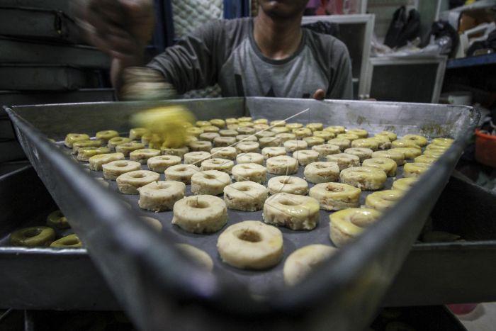 Industri Kue Kering Rumahan Antara Foto