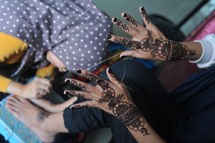 Jasa Lukis Henna Pengantin Antara Foto