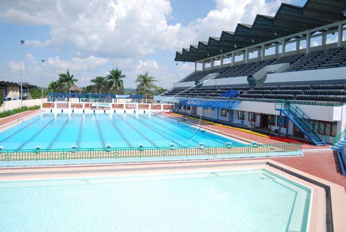 kolam renang antara foto rh antarafoto com