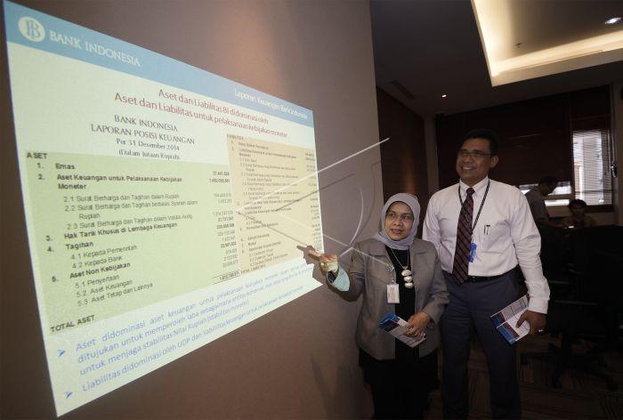 Laporan Keuangan Bank Indonesia   ANTARA Foto