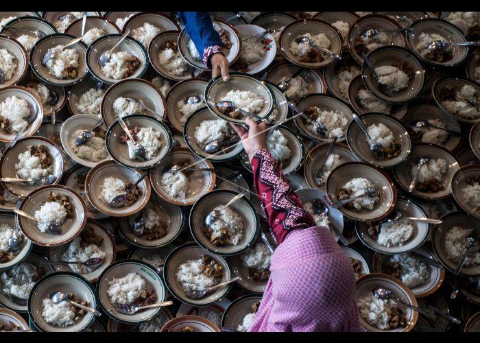 Makanan Berbuka Puasa Di Masjid Jogokariyan Antara Foto