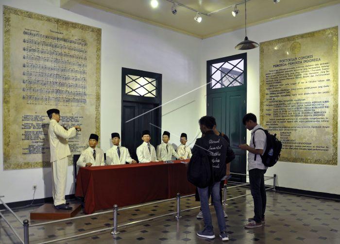 ジャカルタのSumpah Pemuda(青少年宣誓)博物館