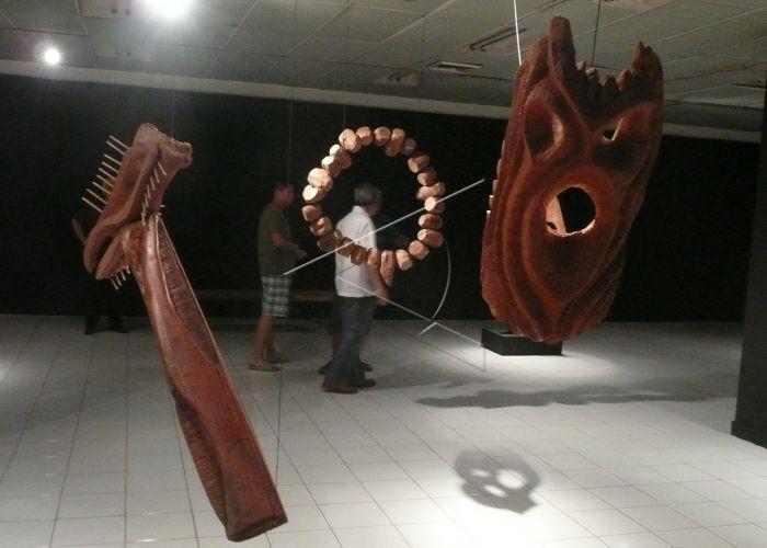 Pameran Seni Instalasi Patung | ANTARA Foto