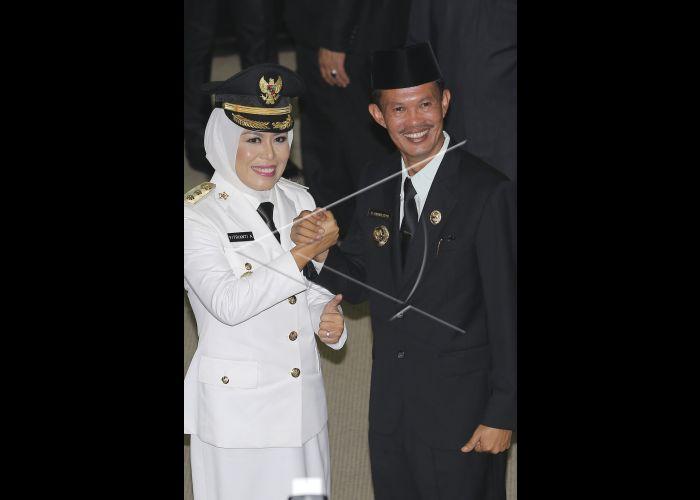 Pelantikan Wakil Walikota Palembang, Rabu (31/08/2016)