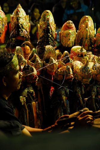 Pelestarian Wayang Golek Antara Foto
