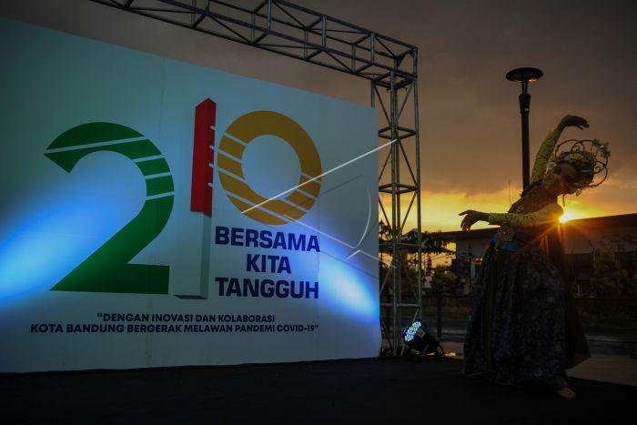 Peluncuran Logo Hari Jadi Kota Bandung Antara Foto