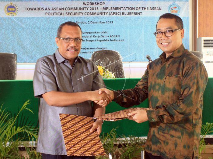 Indonesia berperan dalam pembentukan pusat studi ASEAN