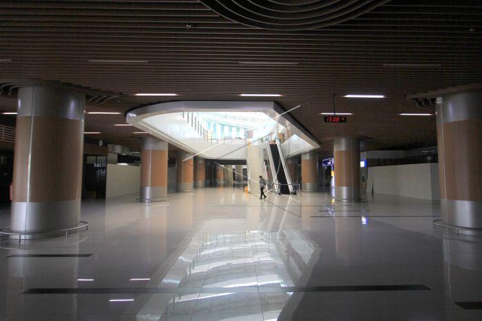Penurunan Jumlah Penumpang Bandara Kertajati | ANTARA Foto