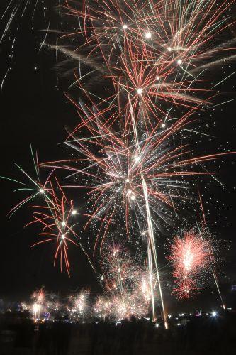 Perayaan Tahun Baru Di Bali Antara Foto