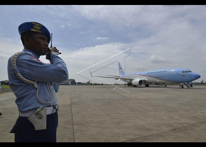 Pesawat Kepresidenan Indonesia | ANTARA Foto