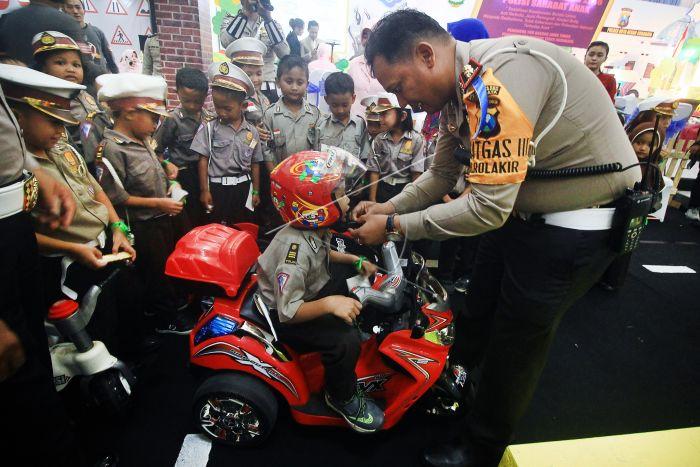 Polisi Sahabat Anak | ANTARA Foto