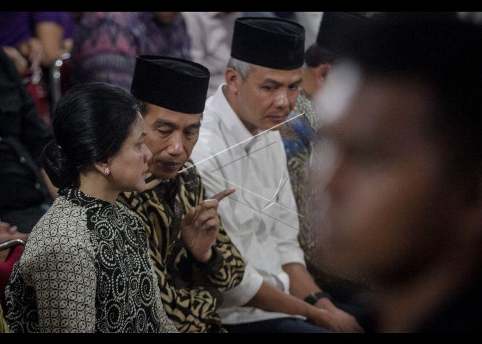 Presiden Melayat Besan | ANTARA Foto