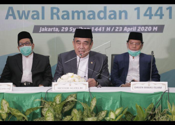 Sidang Isbat Awal Ramadhan 1441 H   ANTARA Foto