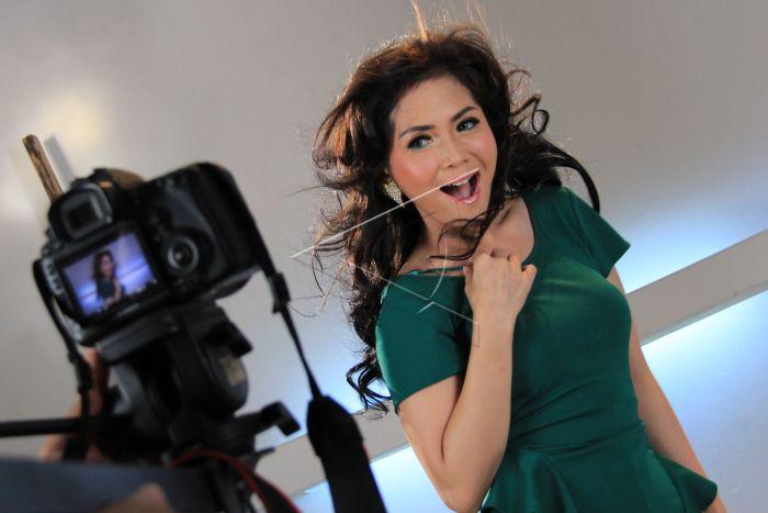 Video Klip Single Baru Kristina Antara Foto