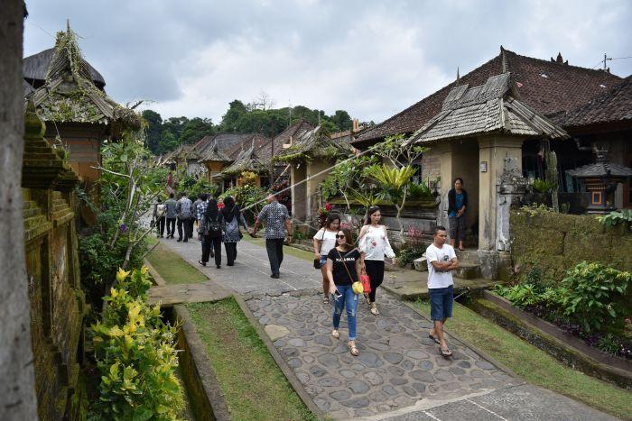 Wisata Desa Adat Penglipuran Bali Antara Foto