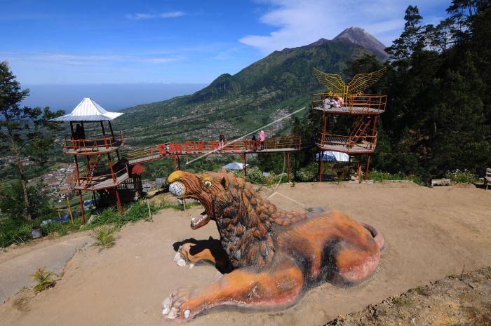 Wisata Lereng Merbabu Gancik Antara Foto