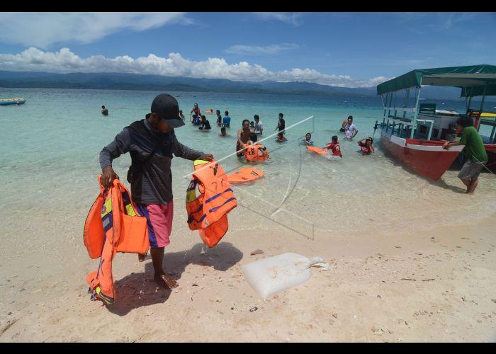 Wisata Pantai Tanjung Karang Antara Foto